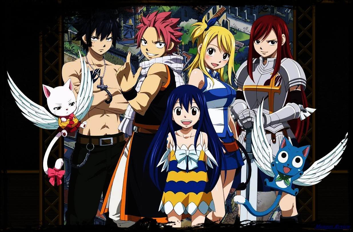 "Fim do anime Fairy Tail "" – Mangás Review"